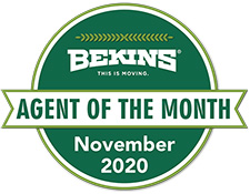 Bekins - Agent of the month